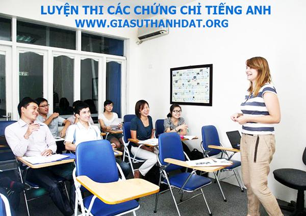 Luyen thi cac chung chi tieng Anh