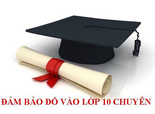 Luyen thi vao lop 10 truong chuyen, cong lap