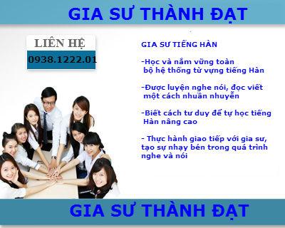 Gia su Tieng Han