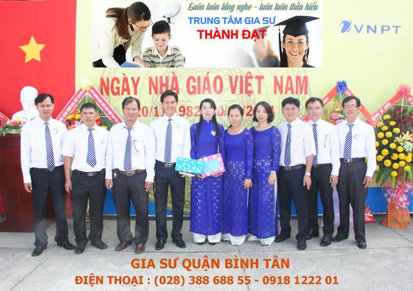 Gia su quan Binh Tan
